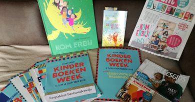 Kom erbij, met het kinderboekenweek lespakket