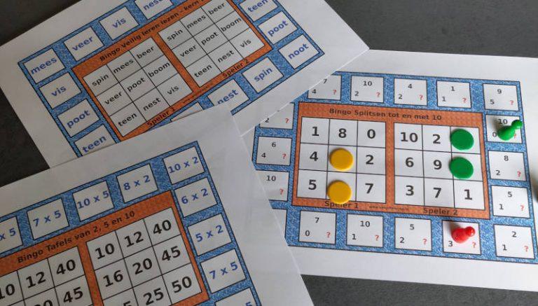 Bingo voor twee spelers.
