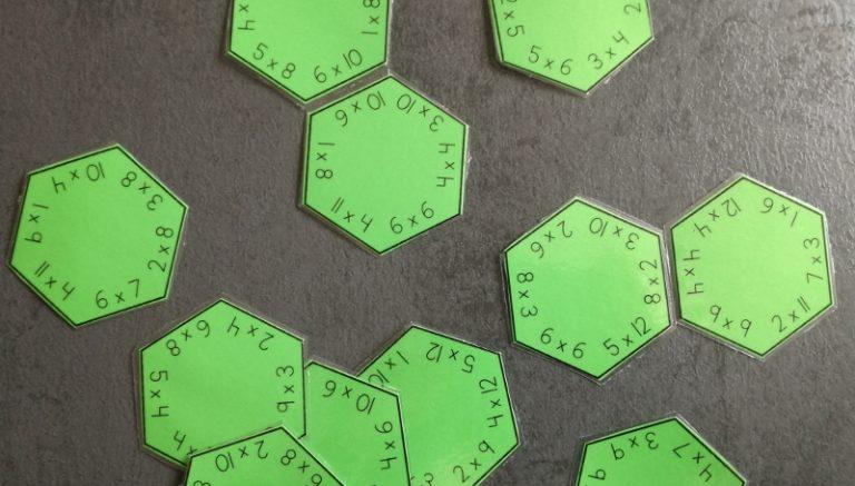 Automatiseren oefenen met de zeskantpuzzel