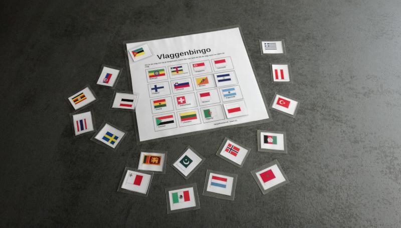 Fabulous Vlaggenbingo. - VanJufMarjan #YL65