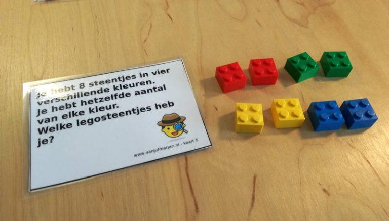 Legosteentjes teldetective