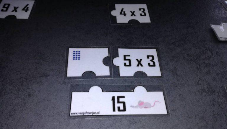 Combinatiepuzzel – tafels tot 10