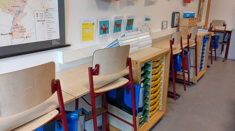 flexibele werkplekken in de klas