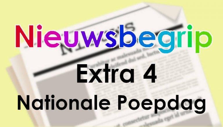 Nieuwsbegrip extra 4 – Nationale Poepdag.