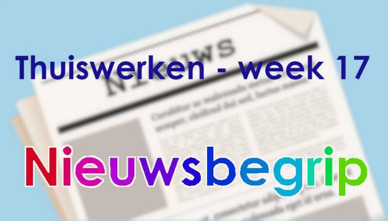 Nieuwsbegrip: Thuiswerken week 17