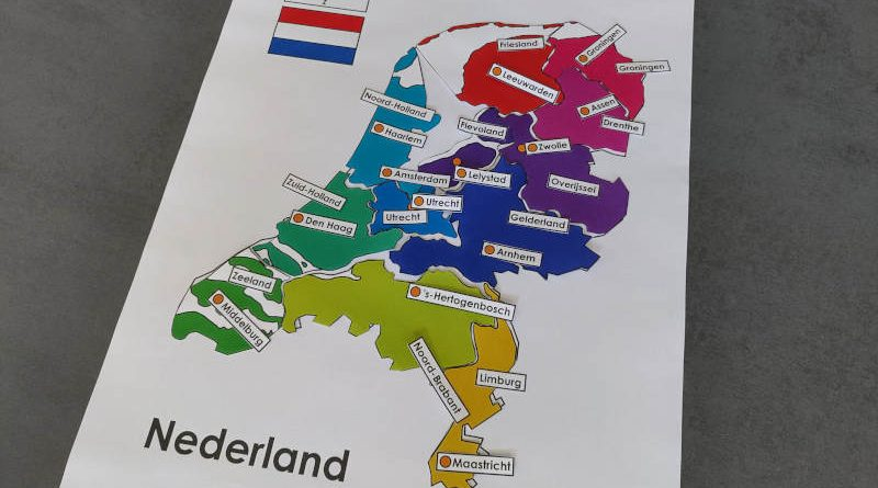 Provinciepuzzel - Nederland