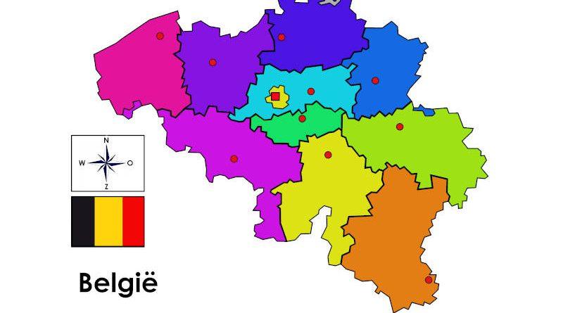 Provinciepuzzel - België