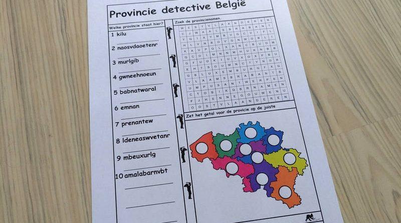 Provincie detective België